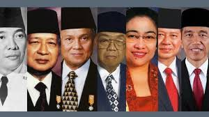 Trivia : Info Unik 7 Presiden di Indonesia